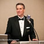 The amazing Jim Cerone, Master of Ceremonies.