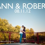 Ann & Robert Heeter - Save The Date Card - Broad Ripple, Indianapolis