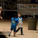 Kids playing at UK DanceBlue 2012