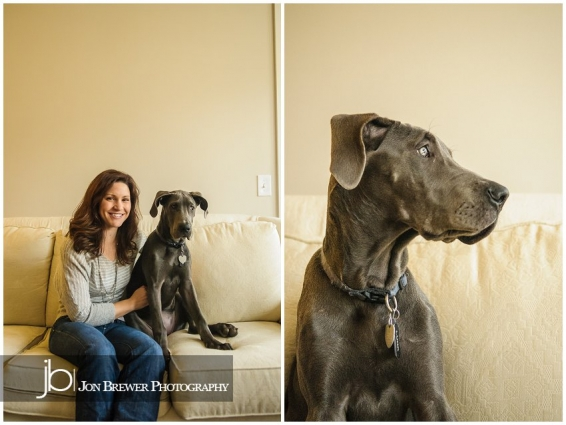Becky & Luna - A Great Dane Puppy (2)